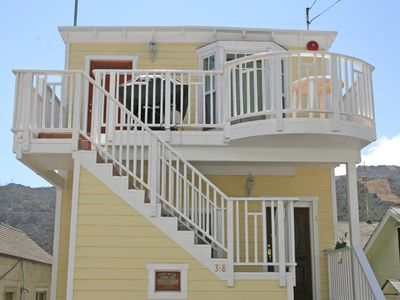 Photo for Light and Airy Home, Ocean/Hill Views, WIFI, Front Deck, BBQ