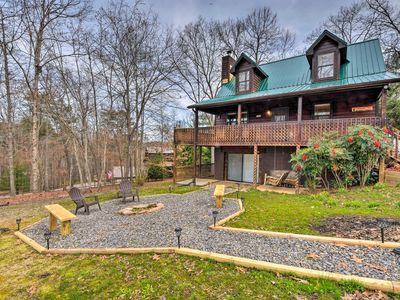 Photo for NEW! Blairsville Cabin w/Deck-Mins to Lake Nottely