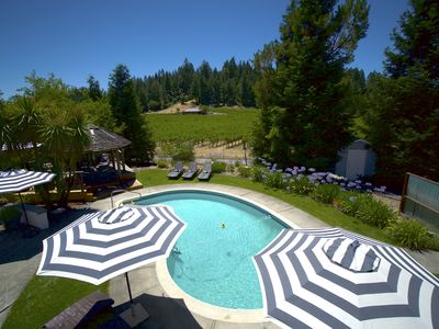 Photo for Bliss! Large House w/Pool & spa in the Vineyards min to Healdsburg & Calistoga!