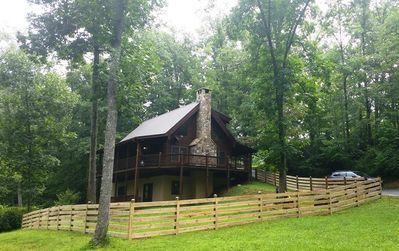 Photo for Log Cabin Getaway on Big Brasstown Creek