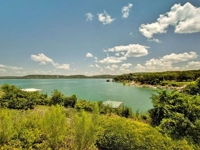 Photo for ON Lake Travis!  Dock!  Tennis court!  Beautiful views and water access!