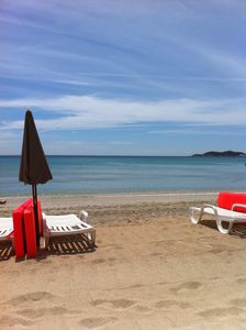 "Photo for Apartment T2 comfortable LA CIOTAT ""feet in the water"" SEA VIEW! Garage."