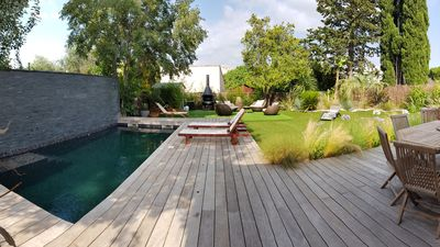 Photo for CONTEMPORARY VILLA WITH SWIMMING POOL