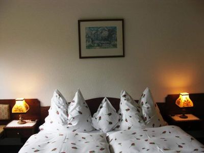 "Photo for Double room ""Steyrblick"" with shower, WC - Hotel garni Landhaus Bürtlmair ***"