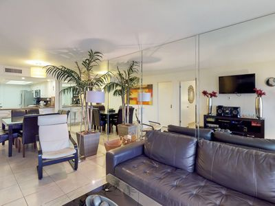 Photo for Ground-floor, waterfront condo w/ shared hot tub, pool, tennis - close to beach