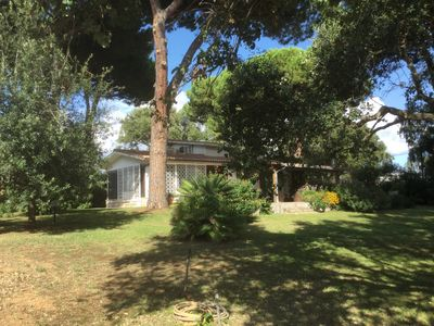Photo for Wonderful villa with park between sea and lake