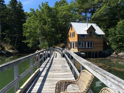 Photo for 3BR Cottage Vacation Rental in Westport Island, Maine