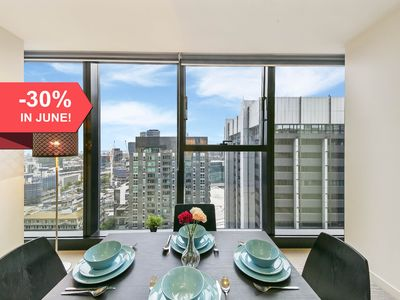 Photo for A Cozy 2BR Apt with a Panoramic View of the City