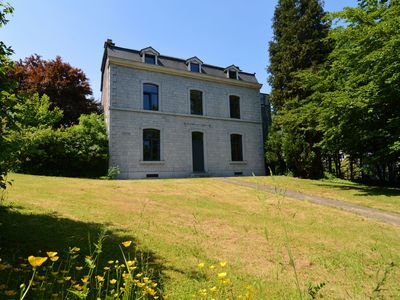 Photo for A luxurious mansion, in the heart of Durbuy with a private tennis court.