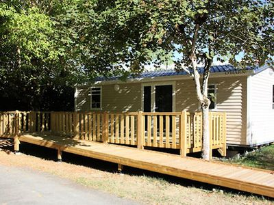 Photo for Camping Outdoor Neuvicois *** - Mobile home Grand Confort 3 Rooms 6 People