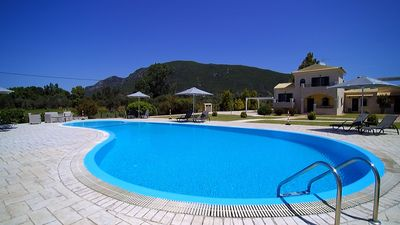 Our villa is a privately owned gated property with 3 luxurious houses, pool, BBQ