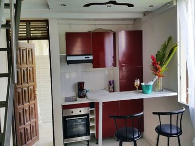 Photo for 1BR Apartment Vacation Rental in Lamentin