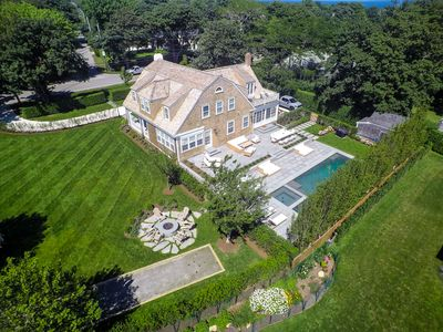 Photo for Zoo Fest: Completely Remodeled Beach-Chic Estate w/ Pool, Spa & Lawn in Sconset.