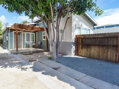"""Photo for """"Balboa Bungalow"""" - Golden Hill House with A/C, Off-street Parking, Privacy"""