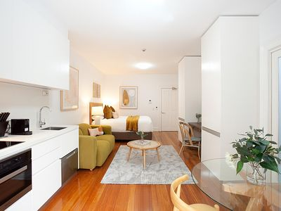 Photo for Leafy and Tranquil Inner West Studio Apartment