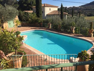 Photo for Provencal farmhouse in the VAR at Cadière d'Azur 6 Kms from the sea