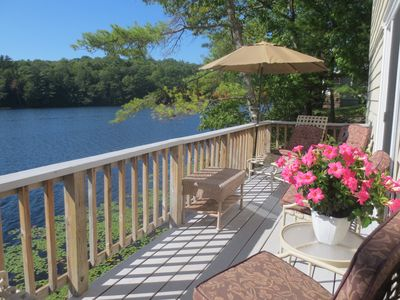 Photo for Lake House directly on Knickerbocker Lake. Very Picturesque, Perfect Location