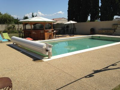 Photo for 90 M² 6 people with private pool house CONDITIONED AND HEATED