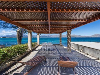 Photo for MEDITERRANEAN SUNDANCE. FAMILY HOUSE FOR 11 PEOPLE AT THE FIRST LINE OF MAR ...