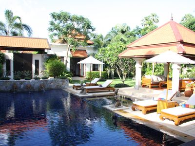 Photo for 10*Family Exotic 4-bedroom Luxury Villa in BangTao with Best Home Made Thai Food