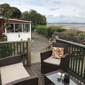 Photo for Beachside Cottage Idyllic Situation, Stunning Views Over Morecambe Bay & Lakes