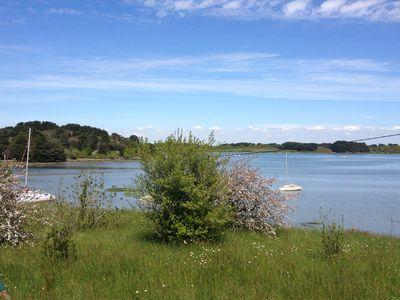 Photo for Superb house 200 m2 with garden, panoramic view of the Gulf of Morbihan