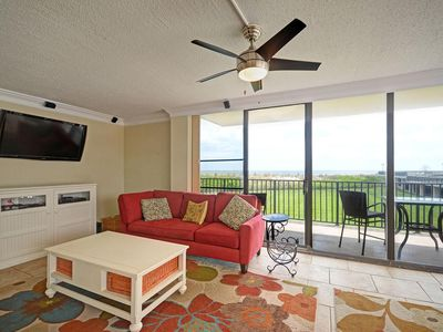 Photo for Ocean Front 3BD, 2.5BA Condo in Sea Colony East
