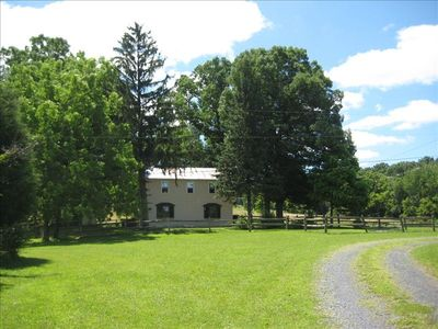 Beautiful home situated on nearly 100 very private acres.