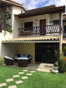 Photo for House Jacuípe. 4 air-conditioned rooms. Cable TV. WiFi. Exit Rio 71. 99267-2592