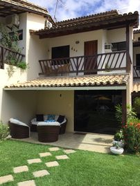 House Jacuípe. 4 air-conditioned rooms. Cable TV.  With exit to Rio. Wi-Fi