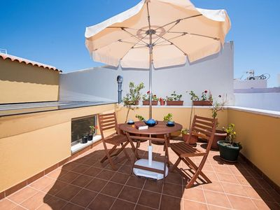 Photo for Luxury Duplex with Roof garden + wifi + bycicle free