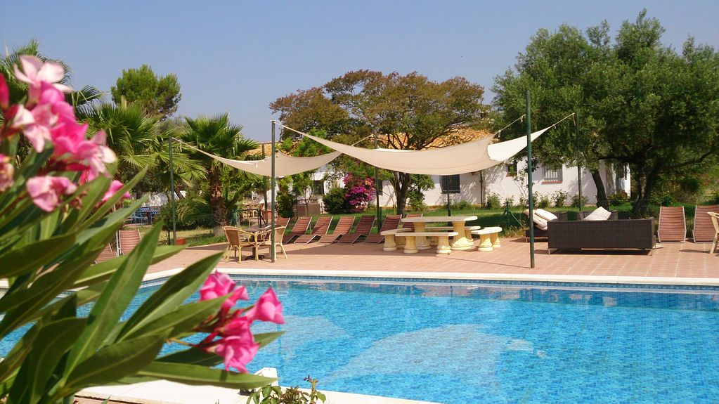 Spacious seville cortijo with large homeaway lora del r o - Swimming pool seville ...
