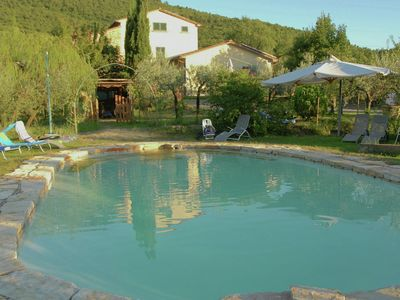 Photo for Views of Cortona, private pool, surrounded by olijbomen personal style
