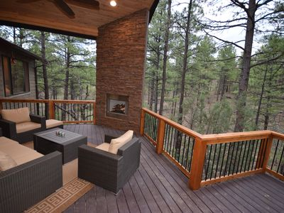 Photo for New $650K Home, 2 acre lot, Private, Tall Pines, Exclusive area! NO STAIRS**