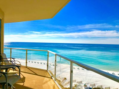 Photo for Luxurious Direct Beach Front 1900 Ft Condo    Beach Chair Setup Included