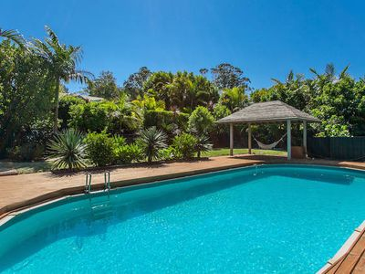 Photo for Stylish peaceful accommodation in the Byron hinterland on 5 acres with pool.