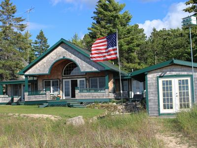 Photo for Compass Rose Lake Michigan Cottage- Sleeps 8- Near the Dark Sky Park!
