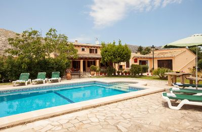 Photo for Villa With Private Pool Just 800 Meter From Pollensa.