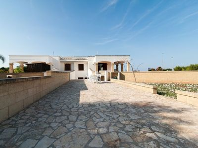 Photo for Vacation home Orange sun apartment in Marina di Pescoluse - 6 persons, 2 bedrooms