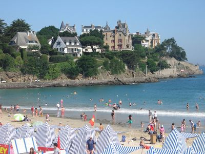 Photo for T2 in the center of Dinard with courtyard and private parking