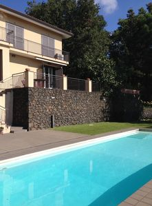 Photo for A beautiful villa with swimming poll by the Etna mountain.