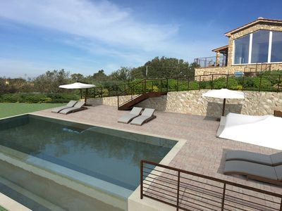 Photo for Private Tuscan villa with private swimming pool