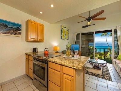 Photo for Maui Magic! Ocean View Lanai, WiFi, Flat Screen, Full Kitchen–Polynesian Shores 224