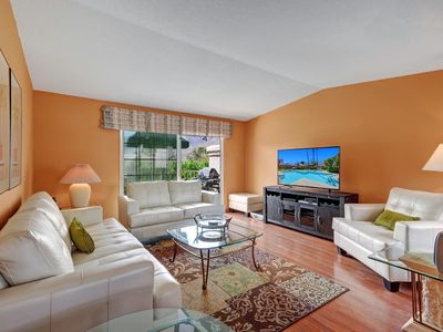 Photo for Chic 2BR Condo in Palm Springs Golf Course Community – Close to Downtown