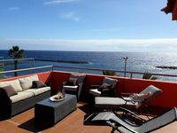 Beautiful apartment next to the ocean with a great 360° view.