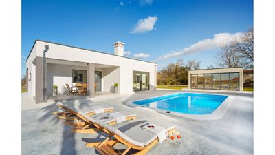 Photo for Modern villa Aida 4* with a swimming pool