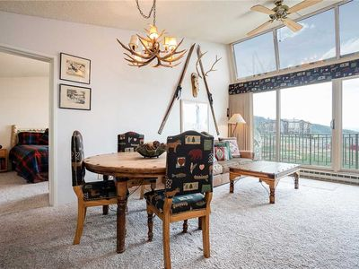 Photo for BT605 by Mountain Resorts: Top-floor views ~ Walk to Mountain Village