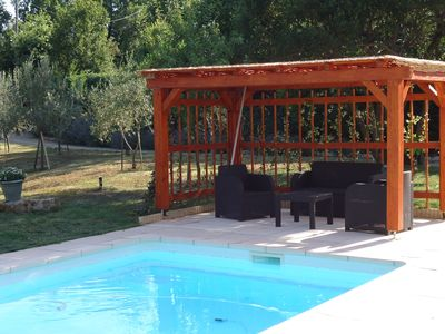 Photo for Rent STUDIO 22 m2 for 2 persons in villa reassured privative swimming pool