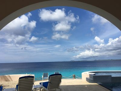 Looking out over Klein Bonaire