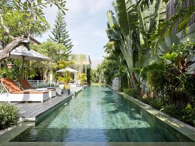 Photo for Luxury 4Br Private+spacious tropical living+staff,near seminyak